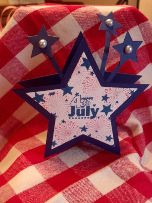 4th of July Star box